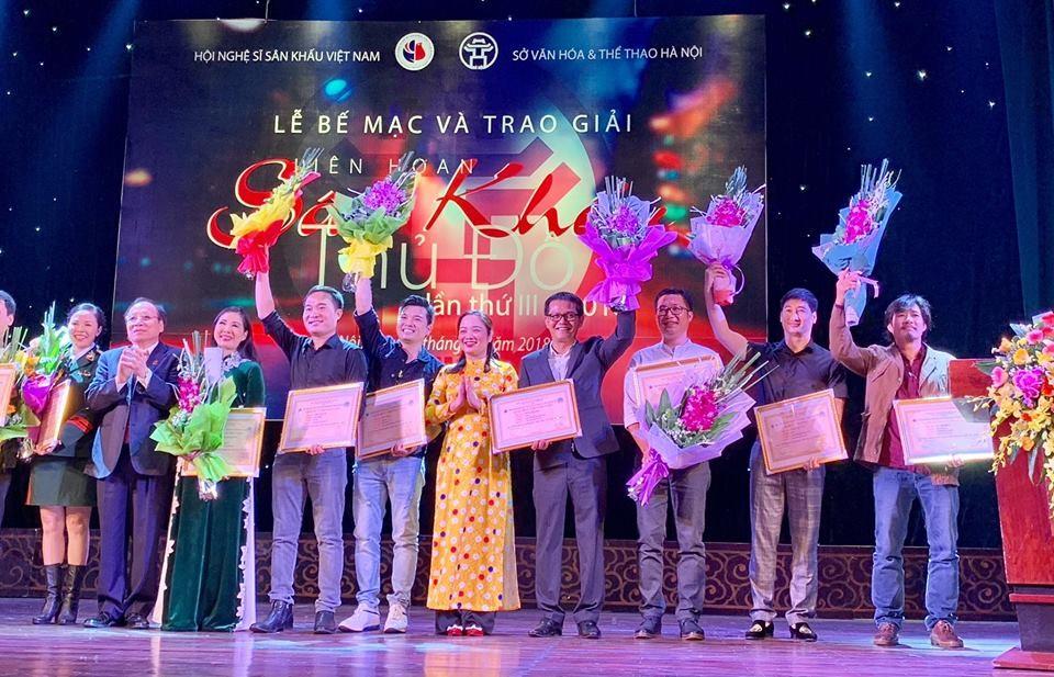 Lễ bế mạc và trao giải Liên hoan Sân khấu Thủ đô lần thứ III năm 2018