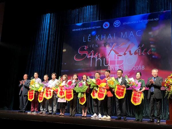 Khai mạc Liên hoan Sân khấu Thủ đô lần thứ III – 2018Khai mạc Liên hoan Sân khấu Thủ đô lần thứ III – 2018